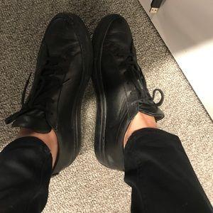 Shoes - Pair of black sneakers